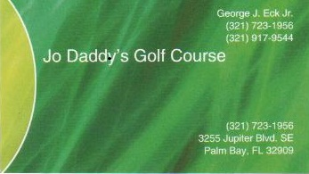 Jo Daddy's Golf Course 321-723-1956